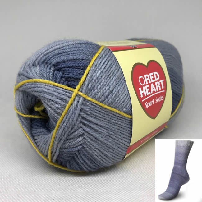 RED HEART SPORT SOCKS 100 g
